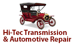 Hi-Tec Transmission & Automotive Repair Logo